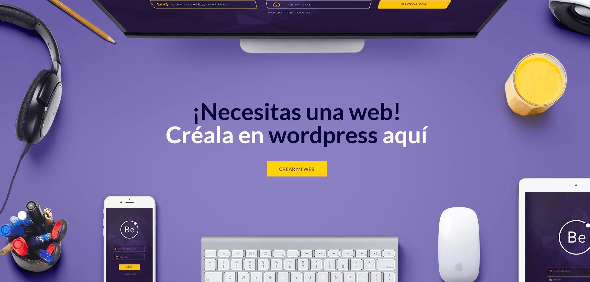 Diego Garcia Cuesta - crea tu web en wordpress